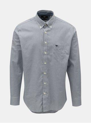 Modrá vzorovaná košeľa Fynch-Hatton