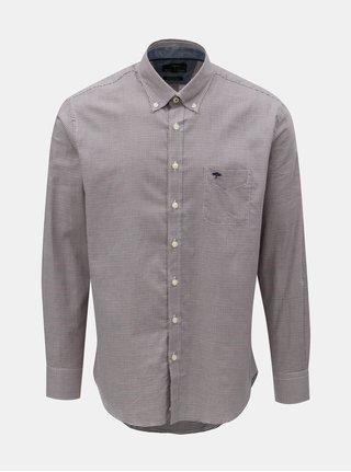 Vínová vzorovaná košeľa Fynch-Hatton
