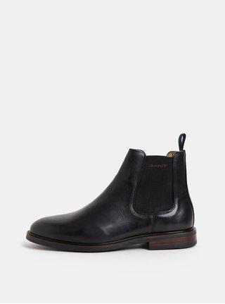 Černé pánské kožené chelsea boty GANT Ricardo aa968741d3