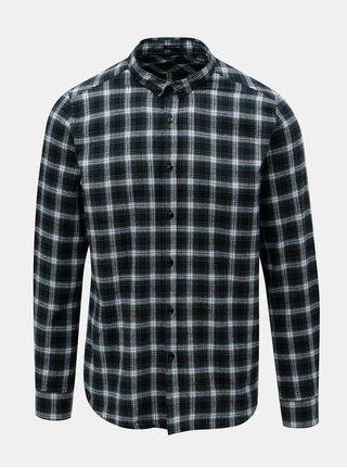 Zelená flanelová košile Dstrezzed