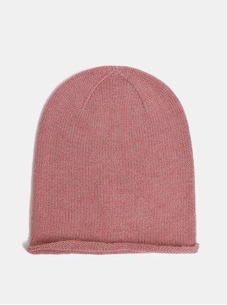 Ružová zimná čiapka Pieces Story