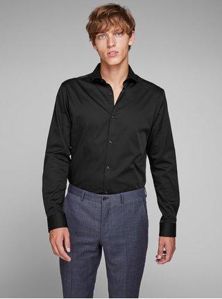 Čierna comfort fit košeľa Jack & Jones Comfort