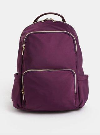 Fialový batoh se zipy ve zlaté barvě ZOOT