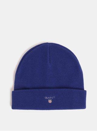 Modrá unisex čepice s vyšitým logem GANT Logo Hat