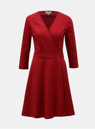 Červené zavinovací šaty Apricot