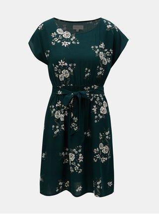 Zelené vzorované šaty Apricot