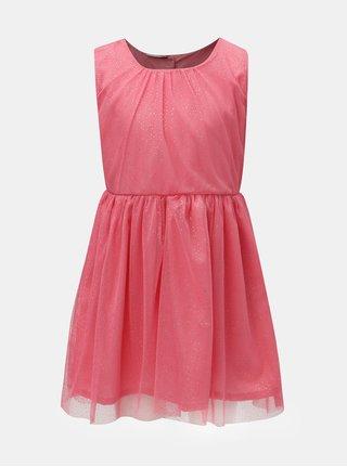 Růžové vzorované šaty Name it Fisla