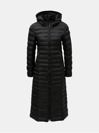 Čierny prešívaný kabát ONLY