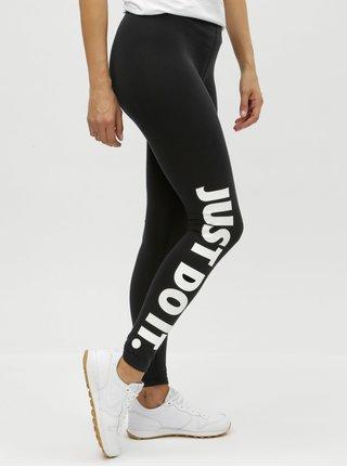 Leggings de dama negri cu imprimeu Nike