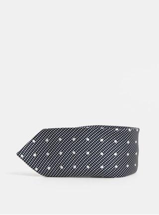 Tmavě modrá klučičí vzorovaná kravata Name it Risp