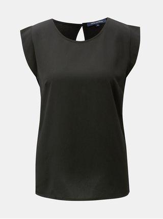 Bluza neagra cu maneci scurte French Connection