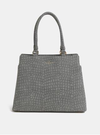 Šedá kabelka s krokodýlím vzorem Paul's Boutique Suki