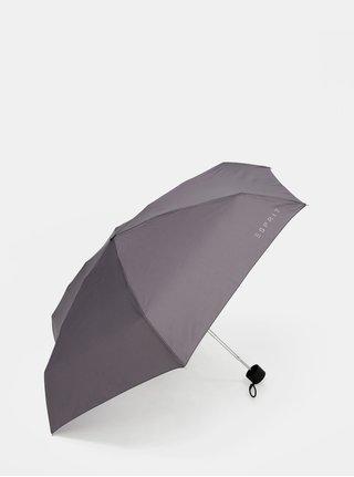 Šedý skládací deštník Esprit Petito excalibur