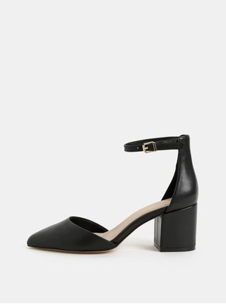 Pantofi negri din piele ALDO Keclya