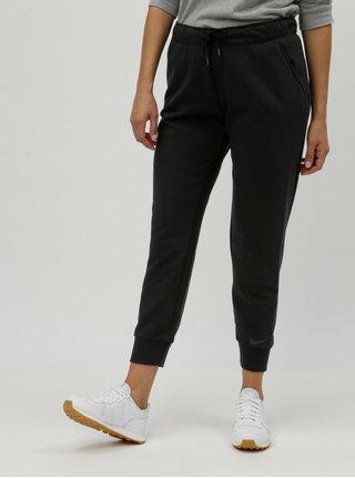 Černé dámské tepláky Nike Dry