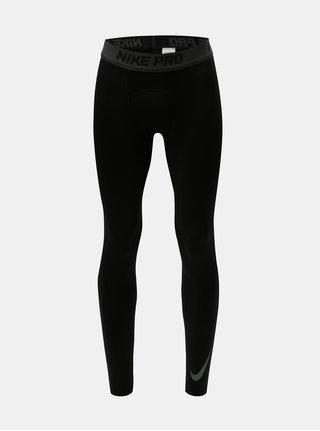 Černé pánské thermo legíny Nike Therma