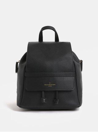 Čierny koženkový batoh Paul's Boutique Charlie