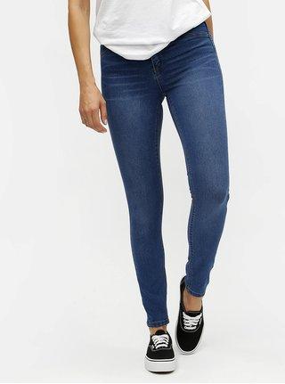 Modré regular skinny džíny Dorothy Perkins