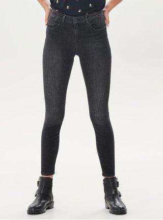 Černé push up skinny džíny ONLY Piti