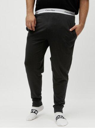 Černé pánské pyžamové kalhoty Calvin Klein Underwear