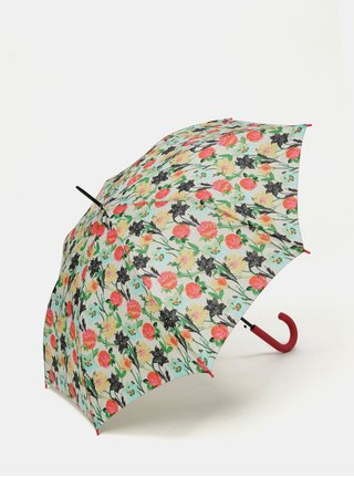 Růžovo-krémový květovaný deštník Rainy Seasons