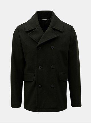 Zelený vlnený kabát Selected Homme New
