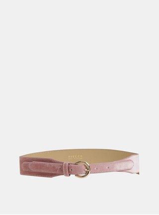 Růžový pásek do pasu Pieces Kiana