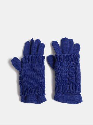 Tmavomodré rukavice s odnímateľným návlekom 2v1 ONLY Thona