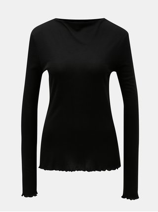 Černé tričko VERO MODA AWARE Fay