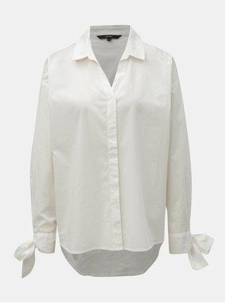 Bílá oversize košile VERO MODA Flow