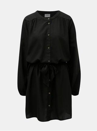 Černé košilové šaty Jacqueline de Yong Evelyn