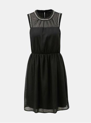 Černé šaty VERO MODA Kallie