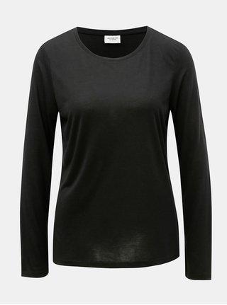 Čierne basic tričko Jacqueline de Yong Rosa