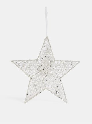 Biela svietiaca hviezda Dakls