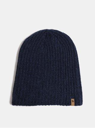 Tmavě modrá zimní unisex čepice Fjällräven Övik