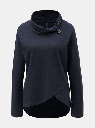 Tmavě modré tričko s límcem Tranquillo Dalia