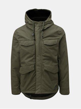 Zelená pánska zimná bunda s kapucňou Ragwear