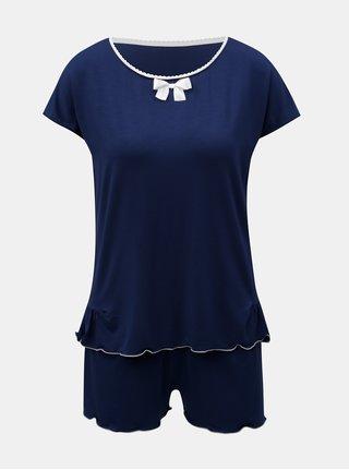 Pijama din 2 piese albastru inchis Eldar Barbara