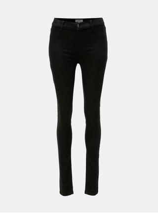 Černé super skinny džíny Dorothy Perkins Tall Frankie