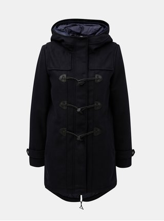 Tmavě modrý kabát s odepínatelnou vnitřní částí ONLY Cilana