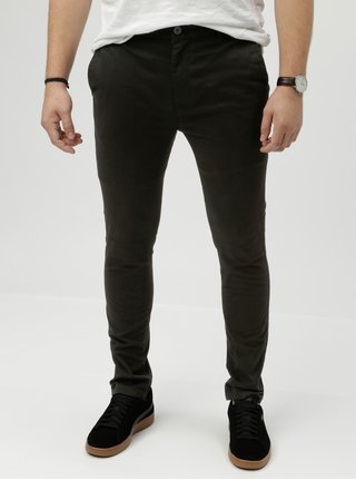 Pantaloni negri super skinny Burton Menswear London