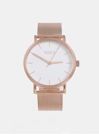 Dámské hodinky s nerezovým páskem v růžovozlaté barvě Roxy Maya 22f26a24841