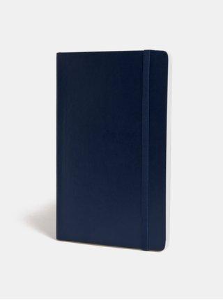 Tmavě modrý linkovaný zápisník s měkkou vazbou Moleskine A5