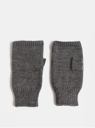 Sivé návleky na ruky s metalickým vláknom Dorothy Perkins Lurex
