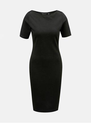f57806c28749 Čierne puzdrové šaty s krátkym rukávom Dorothy Perkins