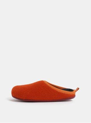 Oranžové dámské papuče Camper Special