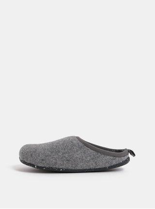 Šedé dámské žíhané papuče Camper Special