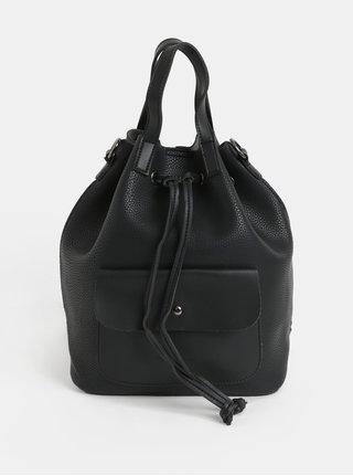 Černý batoh/vaková kabelka Claudia Canova Kagan