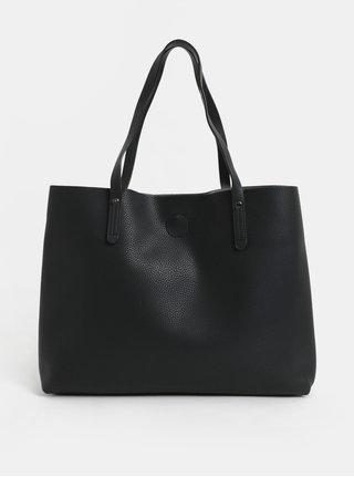 Černý shopper s odnímatelným vnitřním pouzdrem Canova Frazier