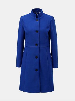 Modrý kabát s příměsí vlny Smashed Lemon